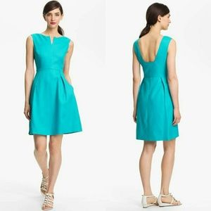 Kate Spade Cleo Linen Fit and Flare A-Line Dress